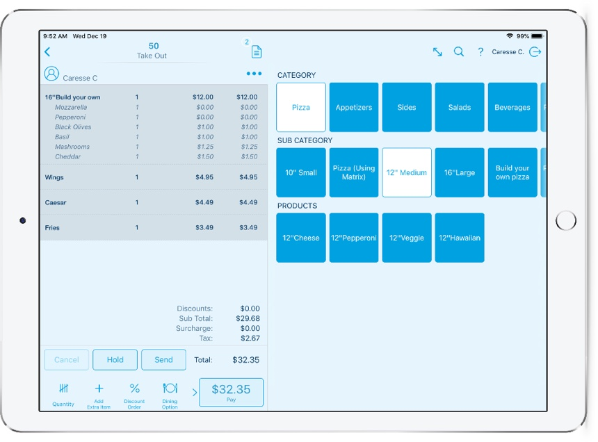 Ipad Pos System And Platform Revel Systems Point Of Sale