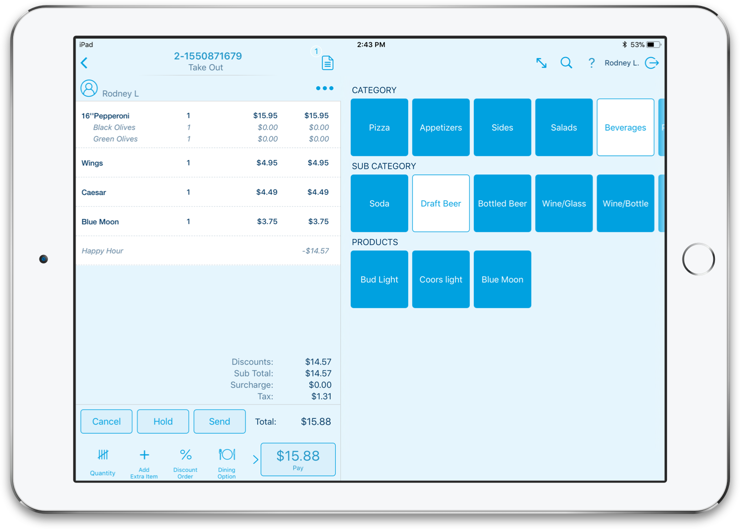 RevelSystems - Intuitive POS!